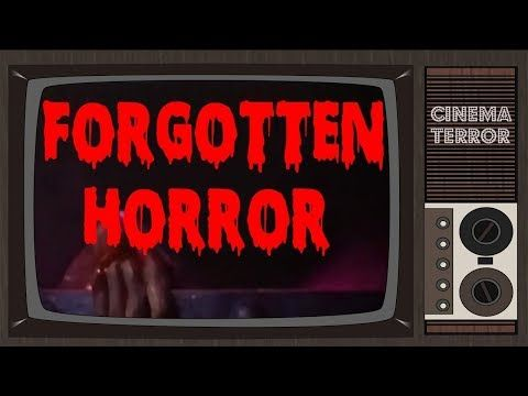 Forgotten Horror: 10 Horror Movies Not on DVD/Blu-Ray - YouTube #bluray