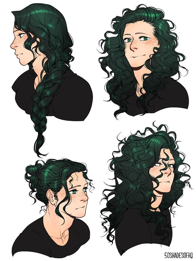 50shadesofhq Long Hair Drawing How To Draw Hair Anime Hairstyles Male