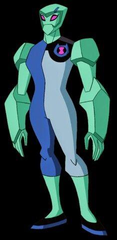 Gwen as diamondhead