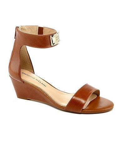 antonio melani sandal wedges. love.
