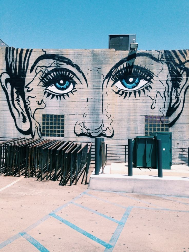 Unknown Artist of this amazing street art graffiti wall.