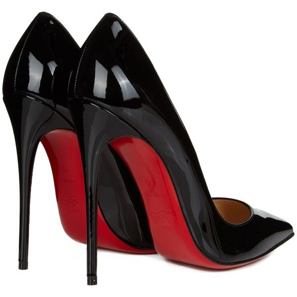 326d1c3799b9 Christian Louboutin So Kate 120mm patent-leather pumps ( 560) ❤ liked on  Polyvore featuring shoes