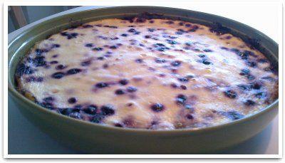Karppirouvan mustikkapiirakka :: reseptit :: karppaus.info