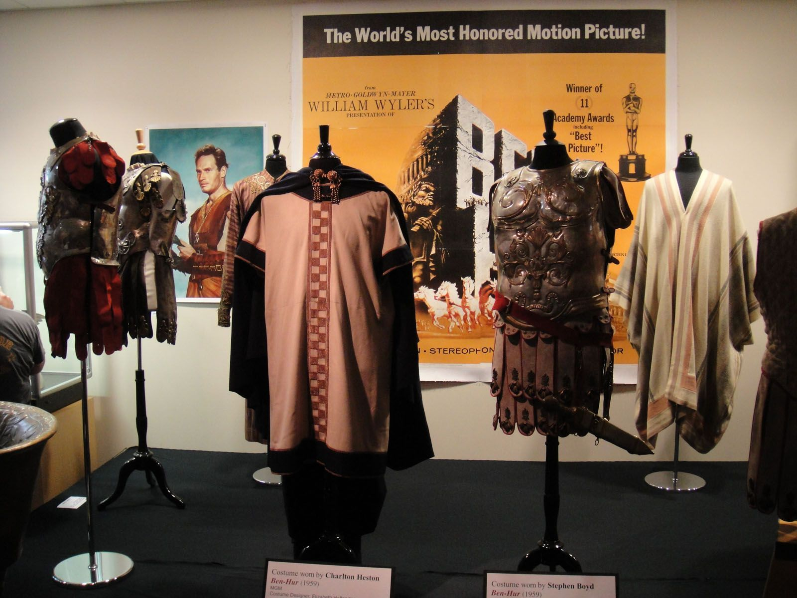 Debbie Reynold's Charity Auction. Ben-Hur (1959) costumes. #benhur1959 Debbie Reynold's Charity Auction. Ben-Hur (1959) costumes. #benhur1959
