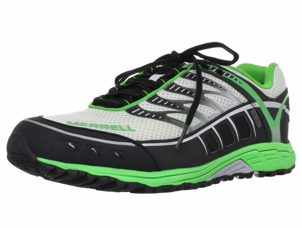 Merrell Mix Master Tuf Gore Tex Mens Green Hiking Walking Trainers Sports Shoes Sports Shoes Athletic Shoes Shoes