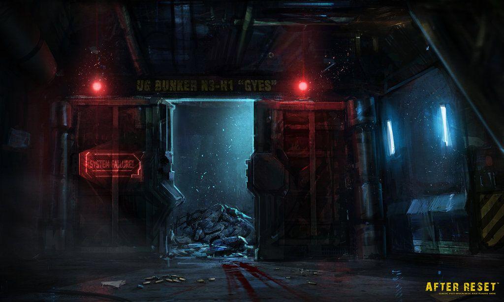 Bunker Entrance Concept Art By Saturnoarg On Deviantart In