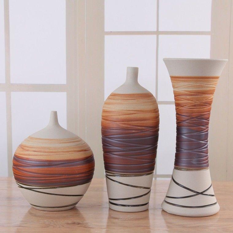 Naturalismo en casa ideas de jarrones grandes pinterest for Jarrones decorativos grandes