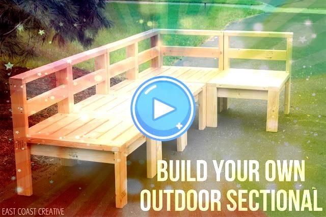 to Build an Outdoor Sectional Knock It Off How to Build an Outdoor Sectional Knock It Off How to Build an Outdoor Sectional Knock It Off Ana White  Build a Corner and End...