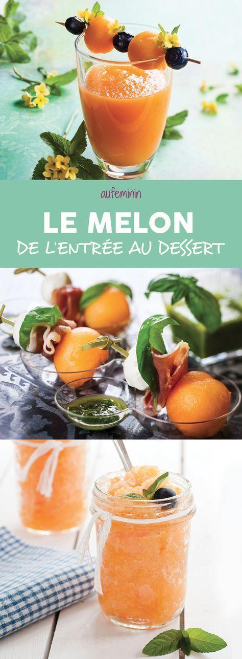 Melon recettes avec du melon et conseils pour cuisiner - Cuisiner les girolles fraiches ...