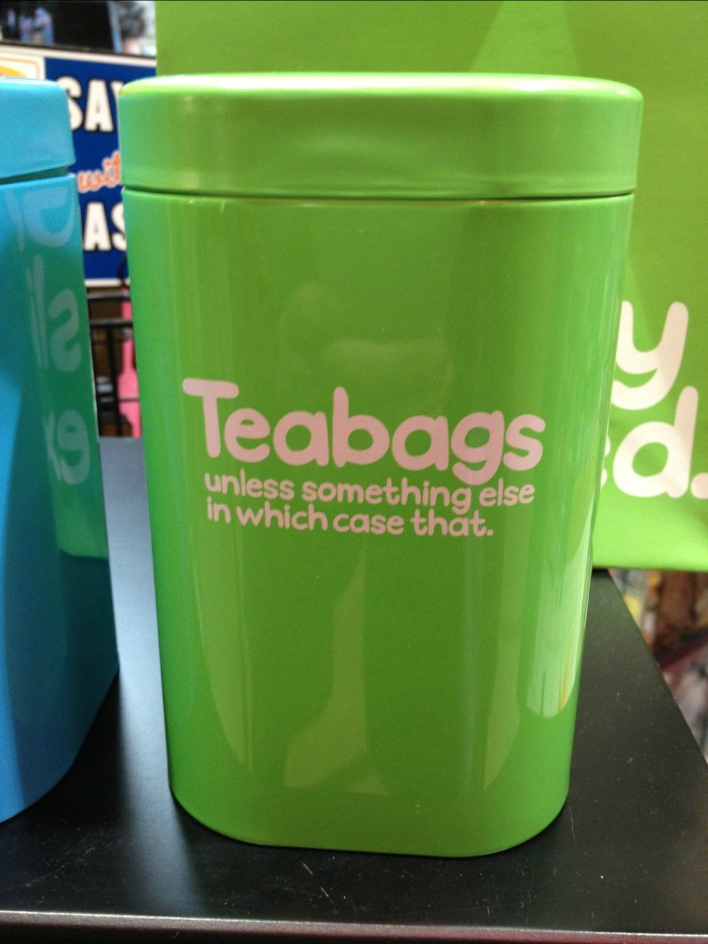 Honest Kitchen Container Imgur I So Want This Kitchen Humor Kitchen Containers Funny Pictures