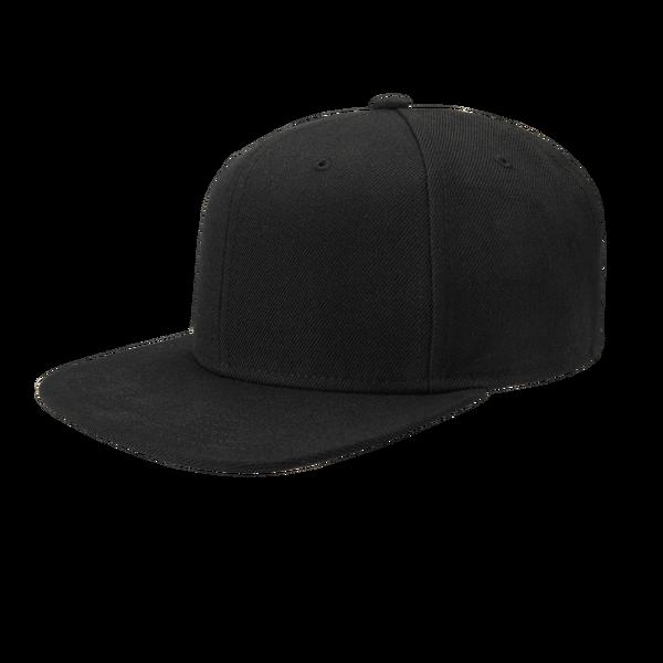 Directors Cap Black Unisex Flat Brim Snapback Gents Co Snapback Brim Womens Baseball Cap