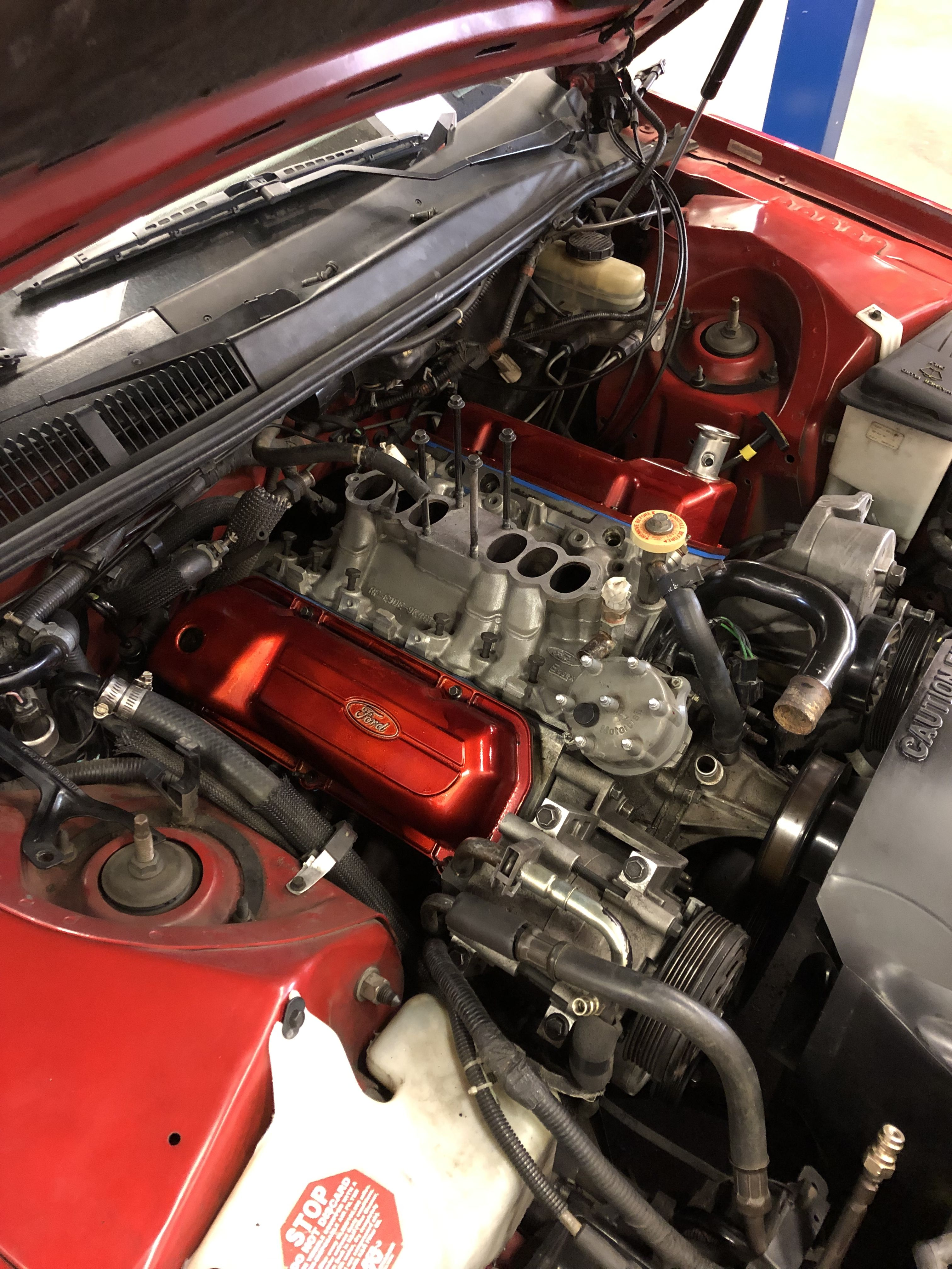 Valve Covers Put In Thunderbird Supercoupe 3 8l Headgasket