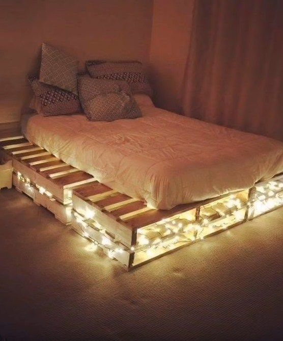 Top 100 Recycled Pallet Bed Frames | DIY Pallet Collection