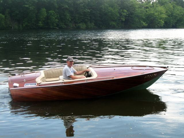 Donzi Inspired Deep V 16 Boat Classic Wooden Boats