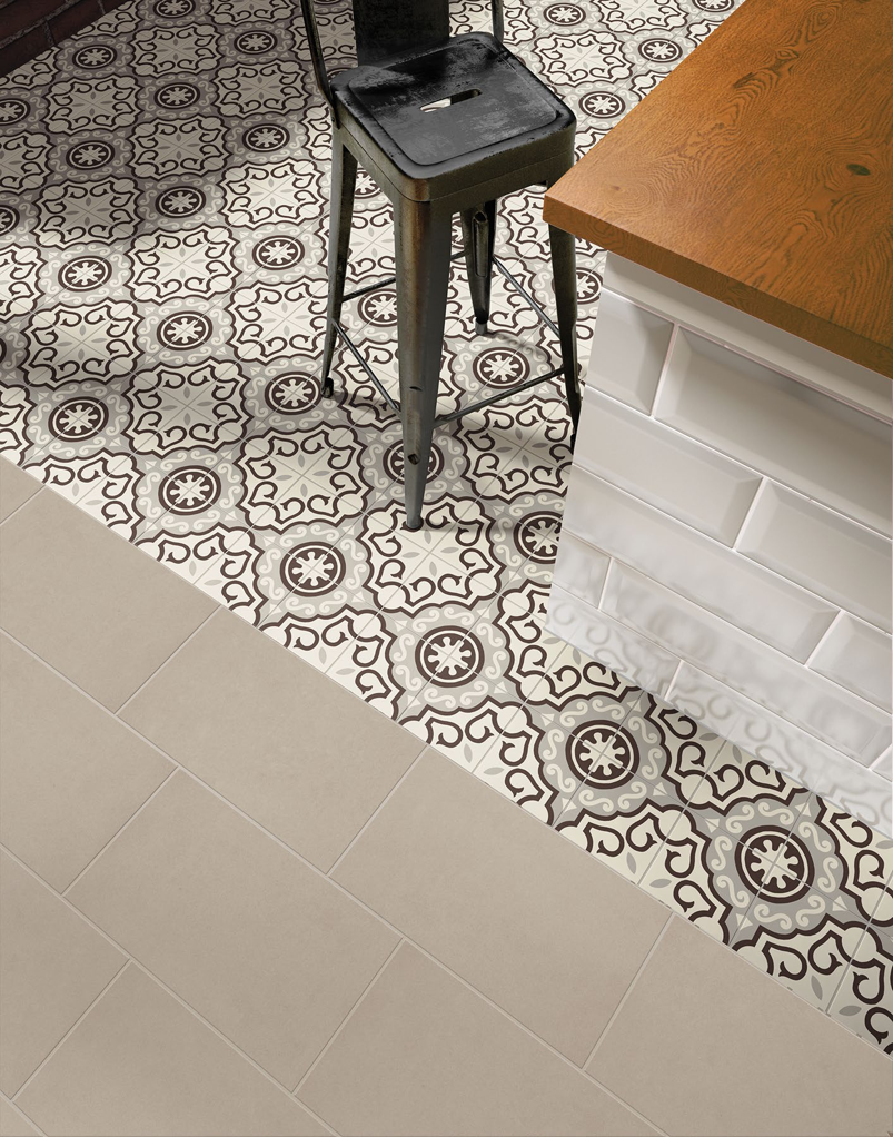 New Marazzi Hawthorne Refined White Tile And Stone