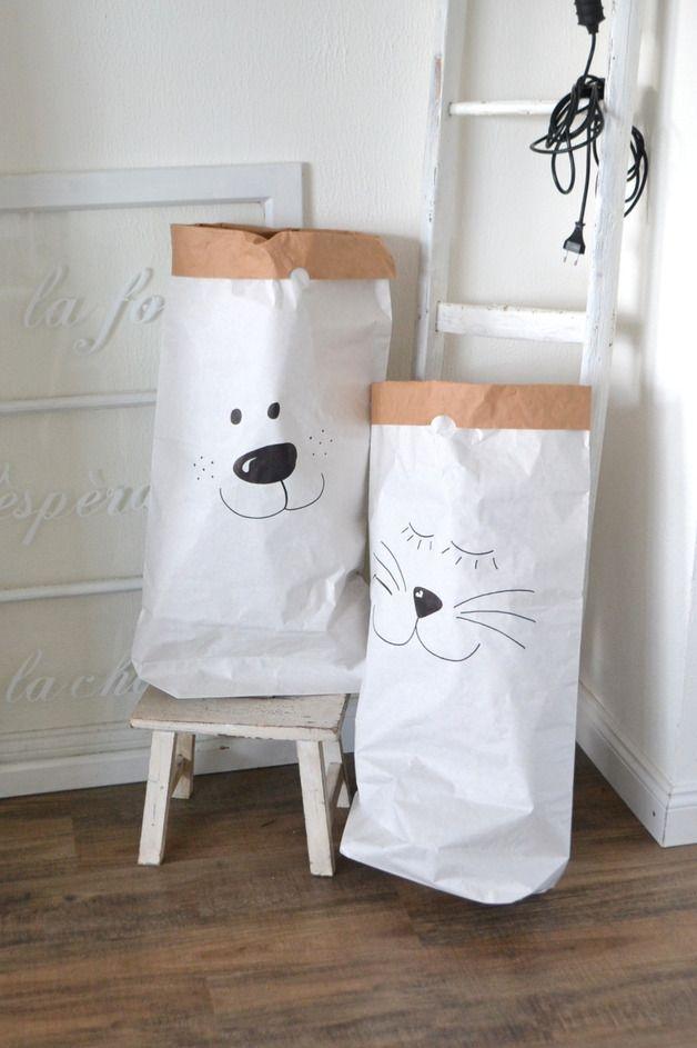 Weiteres - Wunderschöner Papiersack für das Kinderzimmer - ein ...