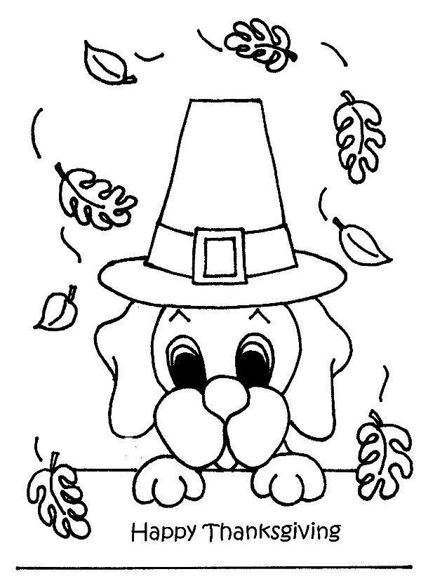Puppy Celebrate Thanksgiving Day Coloring Page Thanksgiving Coloring Sheets Free Thanksgiving Coloring Pages Thanksgiving Coloring Pages