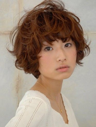 Japanese Hairstyles Gallery Short Curly Hair Hair Styles