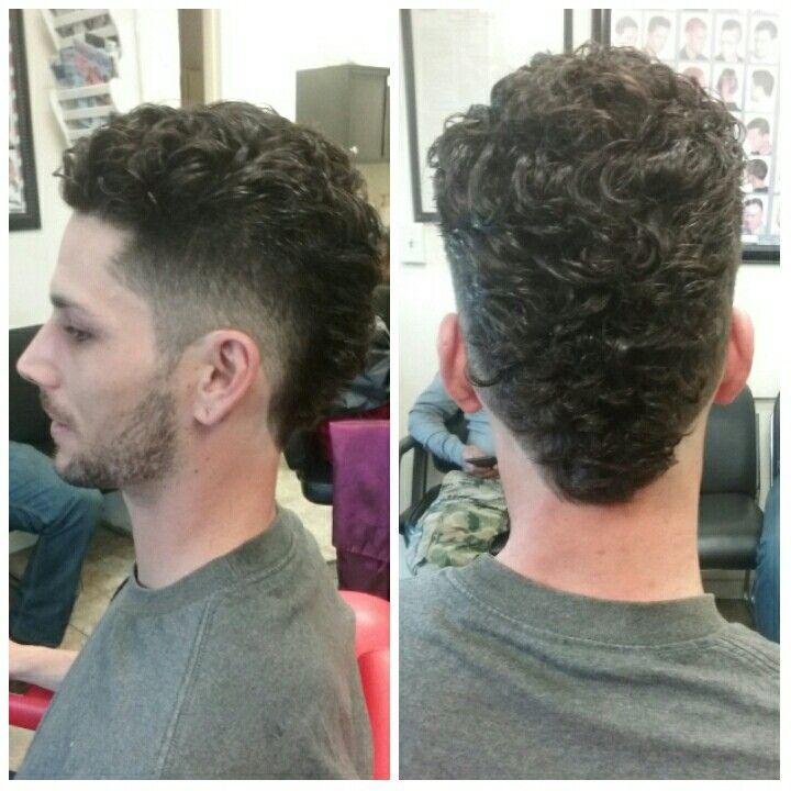 49++ Curly hair mullet fade ideas