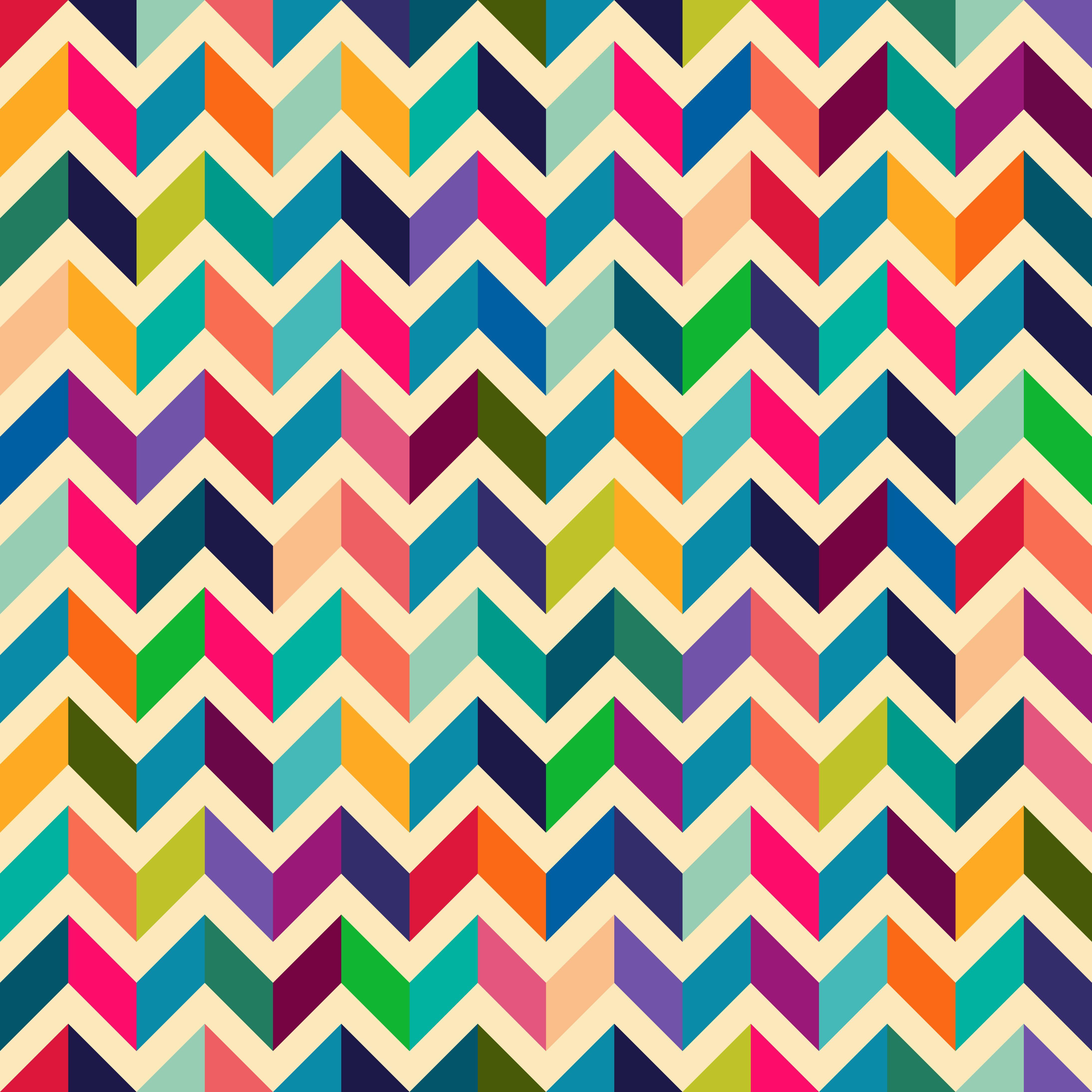 Amazing Chevron Pattern ) Art Print By Mrs