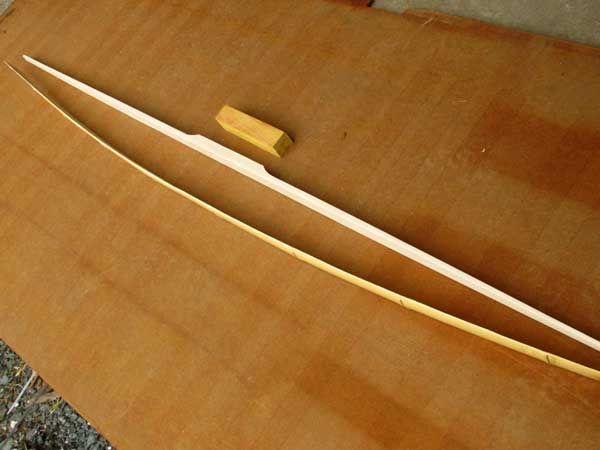 68 Bamboo Backed Hickory Kit w/ Osage handle - $52 00 : G I