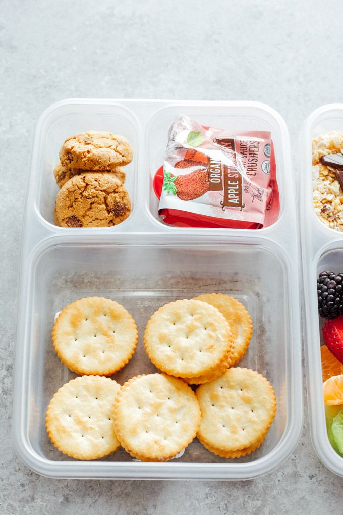 Healthy Vegan Back To School Lunchbox Ideas