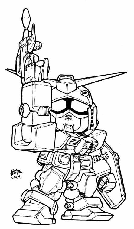 Gundam coloring pages legend gundam colouring pages cc for Gundam wing coloring pages
