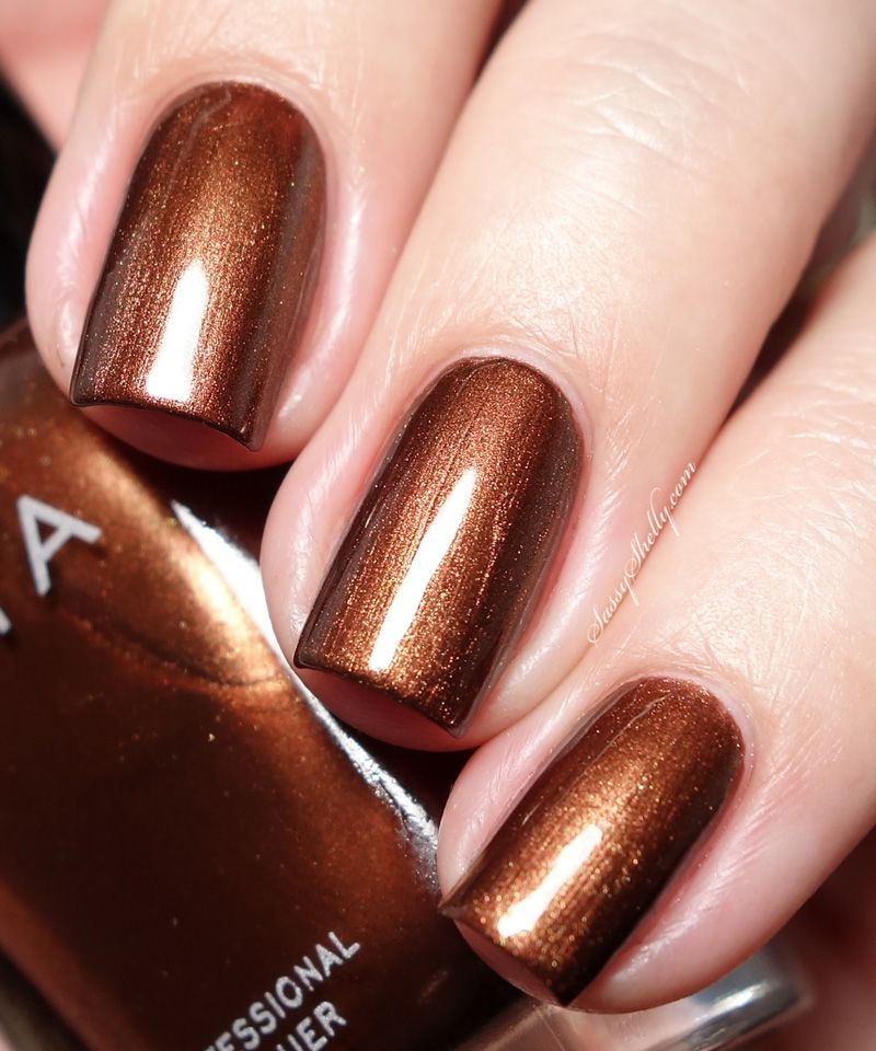 Zoya Cinnamon- fall 2015 | Tips to toes | Pinterest | Swatch