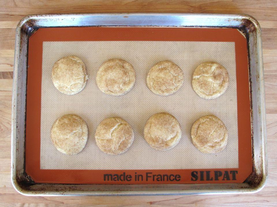 Food on Alcatraz - Cinnamon Sugar Cookies on The History Kitchen #vintage #recipe #history
