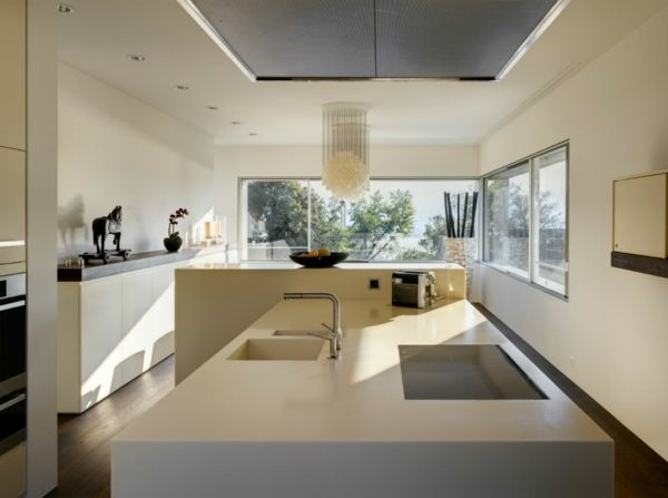 moderne Küche-Einrichtungsideen weiß | Küchen | Pinterest | Haus ...