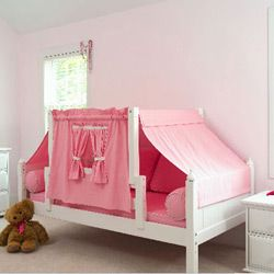 Childrens Twin Beds girl scouts twin bed with tent | kid's room | pinterest | twin