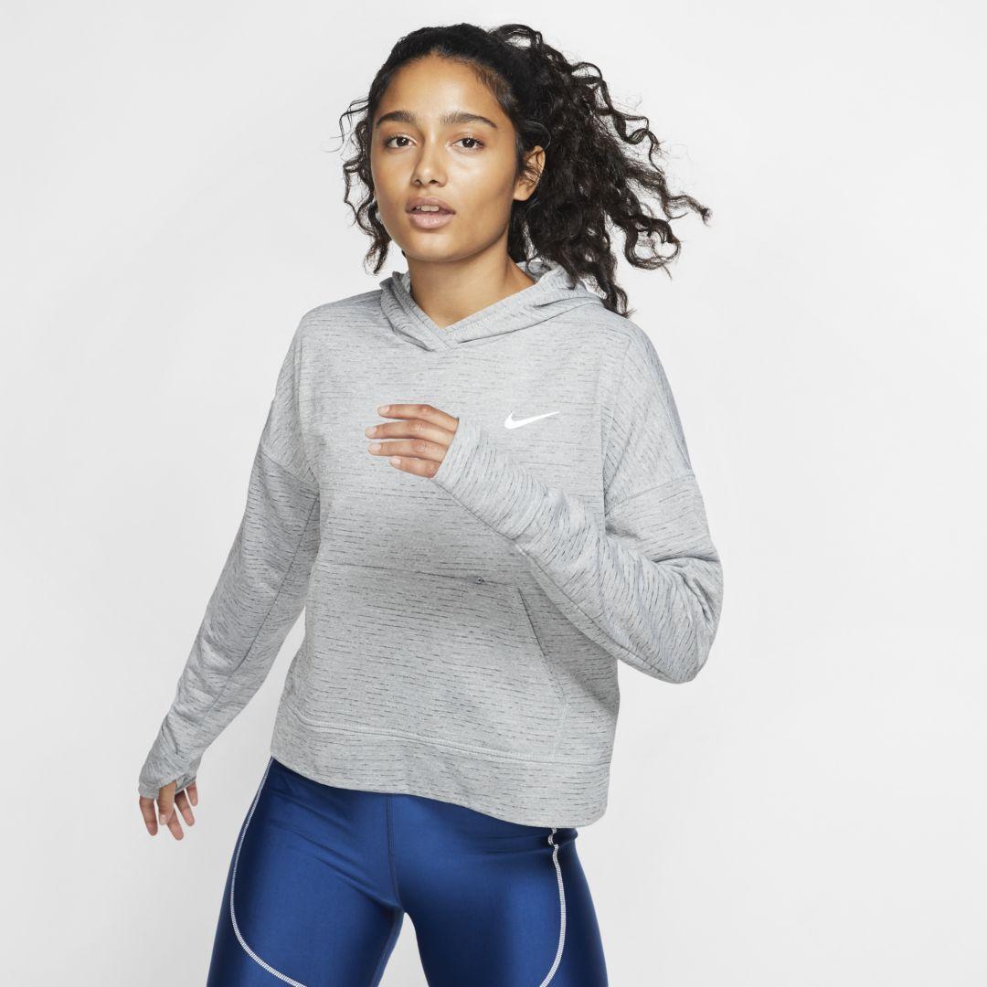 Nike Therma Sphere Element Women's Running Hoodie. Nike.com #niketops