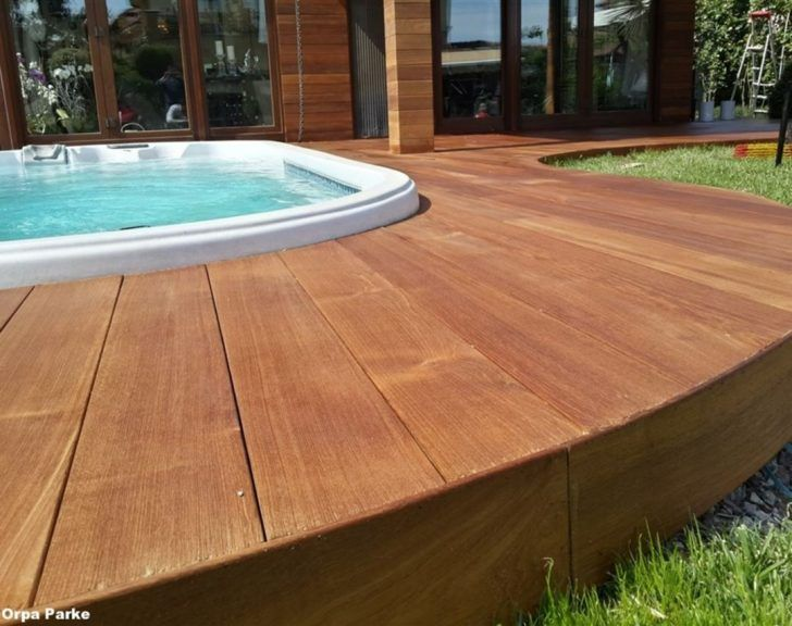 25+ Amazing Wooden Deck Pool Ideas For More Comfortably And Safely