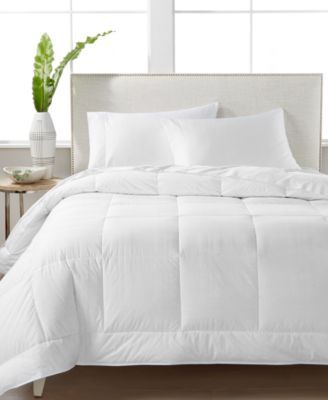 Hotel Collection CLOSEOUT! White Down 400-Thread Count Medium Weight Full/Queen Comforter, Created for Macy's & Reviews - Comforters: Fashion - Bed & Bath - Macy's