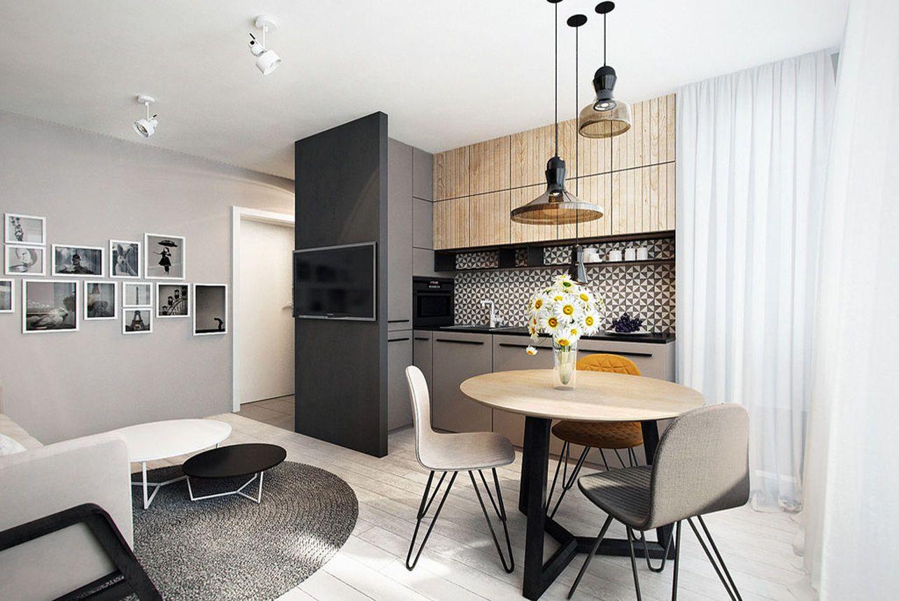 Szara Kuchnia Na 20 Sposobow Najciekawsze Projekty Architektow Living Room Kitchen Kitchen Design Kitchen Interior