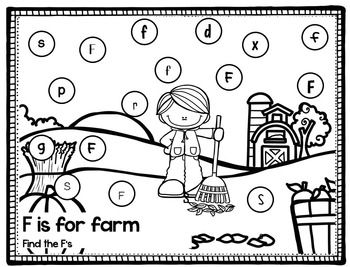 Fall Letter ID Coloring Pages   Coloring pages, Lettering ...