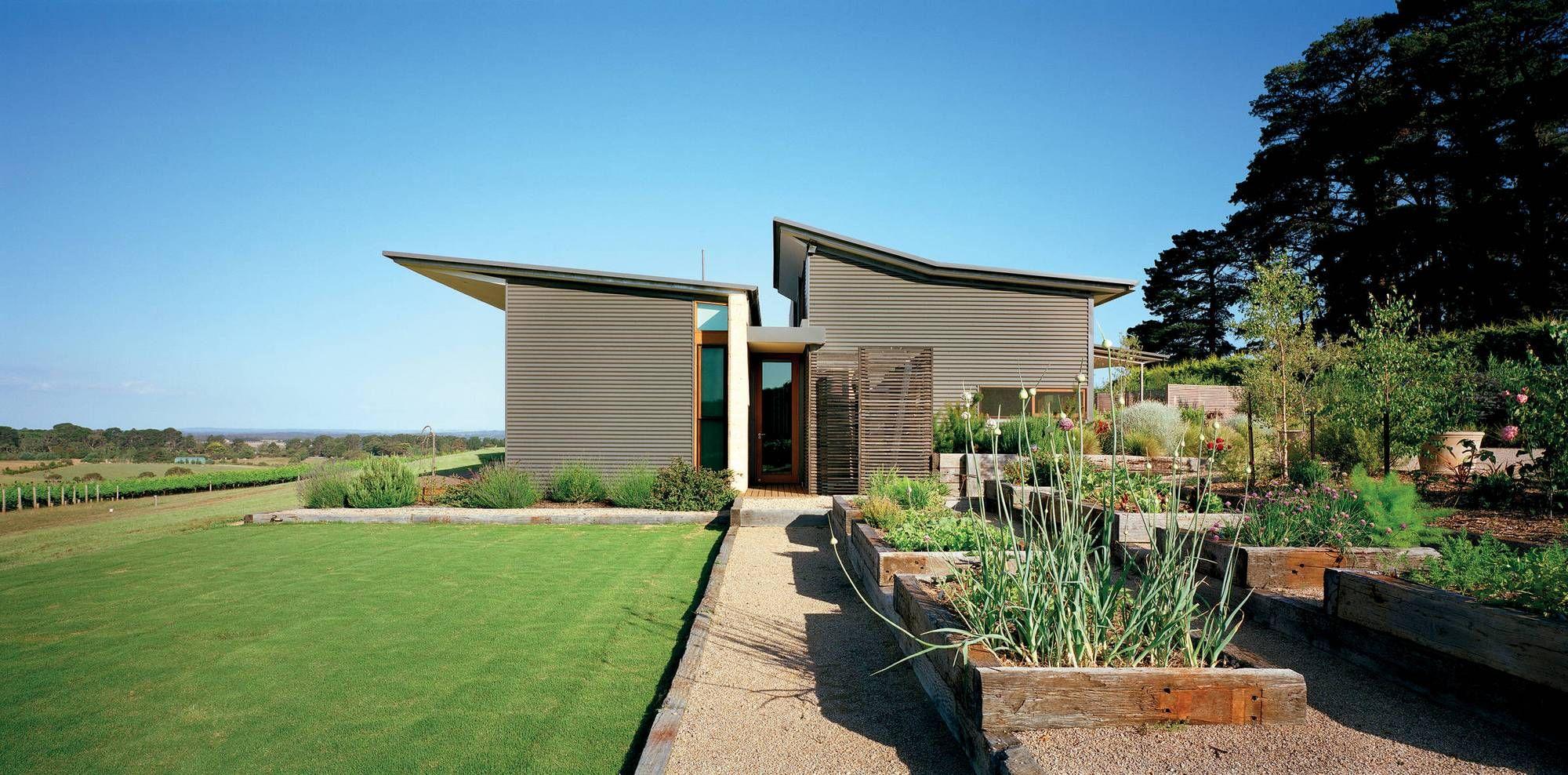 Modern Bungalow In Australia Exterior Design House Design Photos Skillion Roof