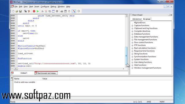 Download WinTask setup at breakneck speeds with resume support - resume software download