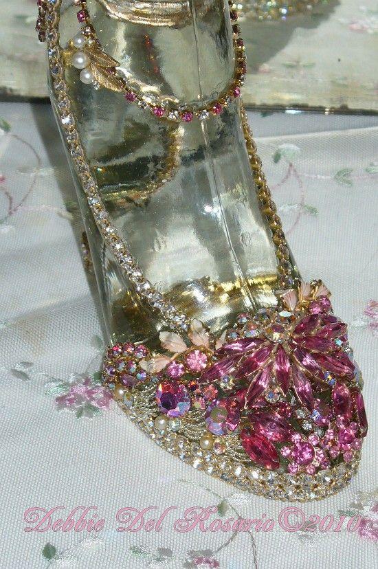 Beautiful High Heel * Jeweled Shoes