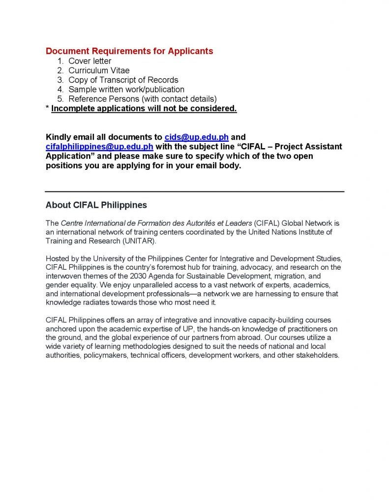 Application Letter Example Tagalog Job Nepali Philippines For