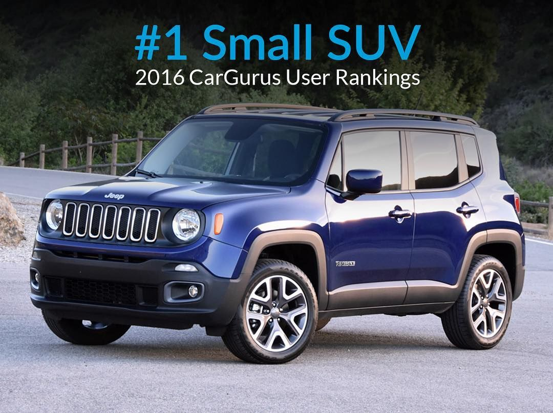 Cargurus Users Rated The Jeep Renegade The 1 Small Suv In 2016