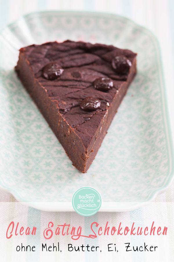 Clean Eating Schokoladenkuchen #schokokuchen