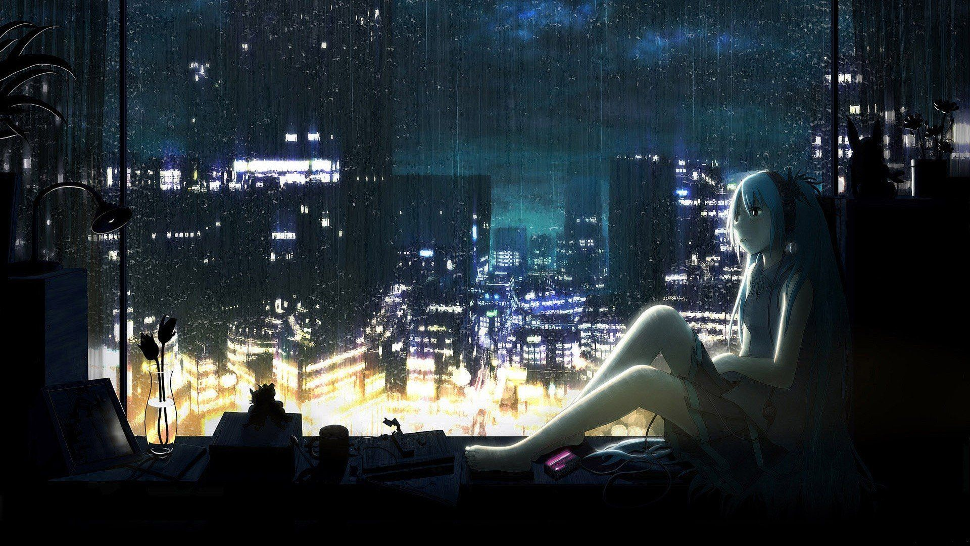 Dark Anime Scenery Wallpapers High Definition With High
