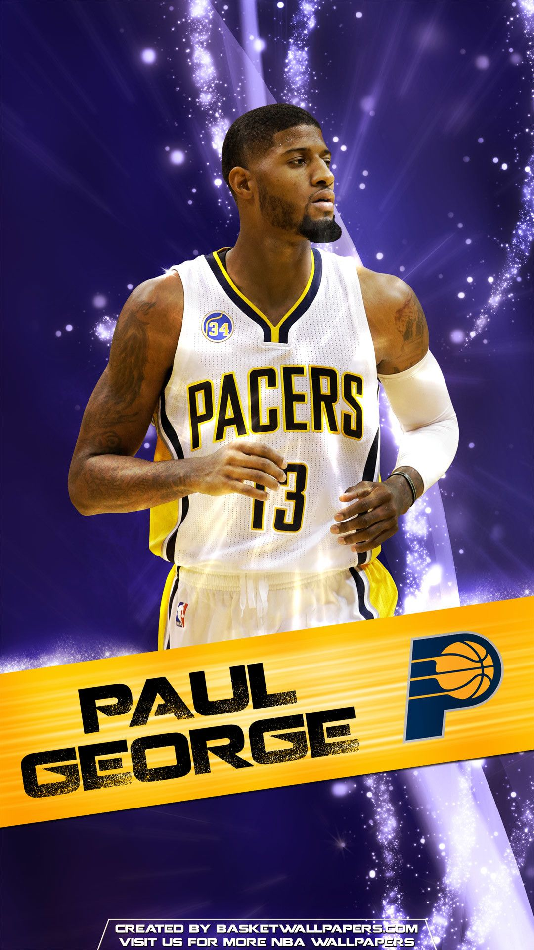 Thunder Paul George Iphone Background Thunder Paul George Iphone Background
