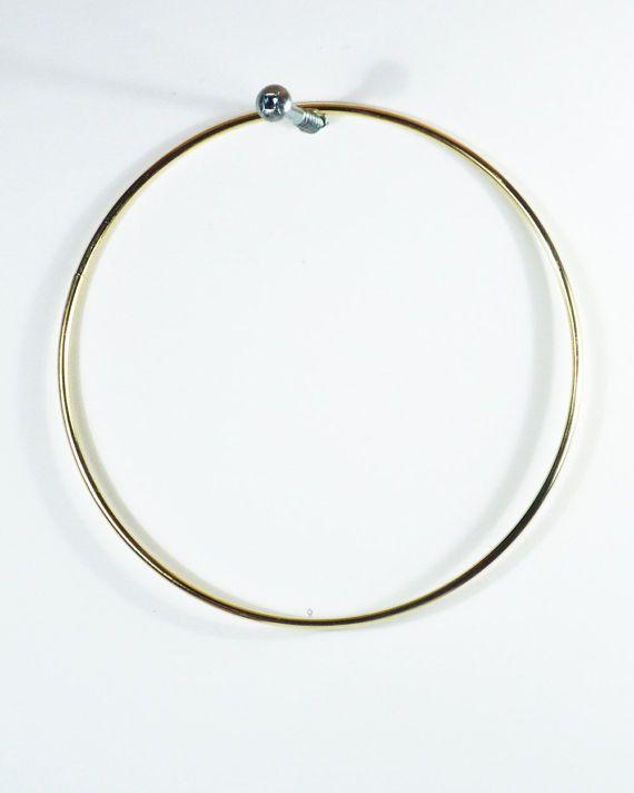 TEN BRASS RINGS 40 Inch Brass Hoop Dream Catcher Hoop Gold Hoop Amazing Where To Buy Dream Catcher Hoops