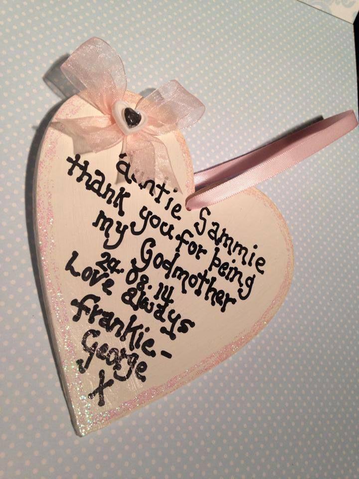 Christening heart gift :O)