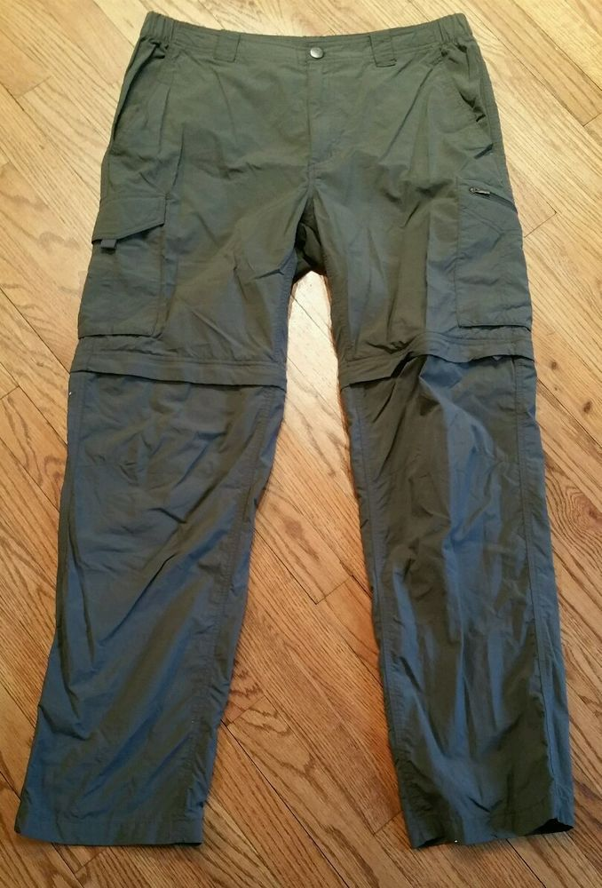 75313fa4 Columbia Omni-Shade Sun Protection Convertible Pants/Shorts Hiking Men's  36W 32L #Columbia #CasualPants