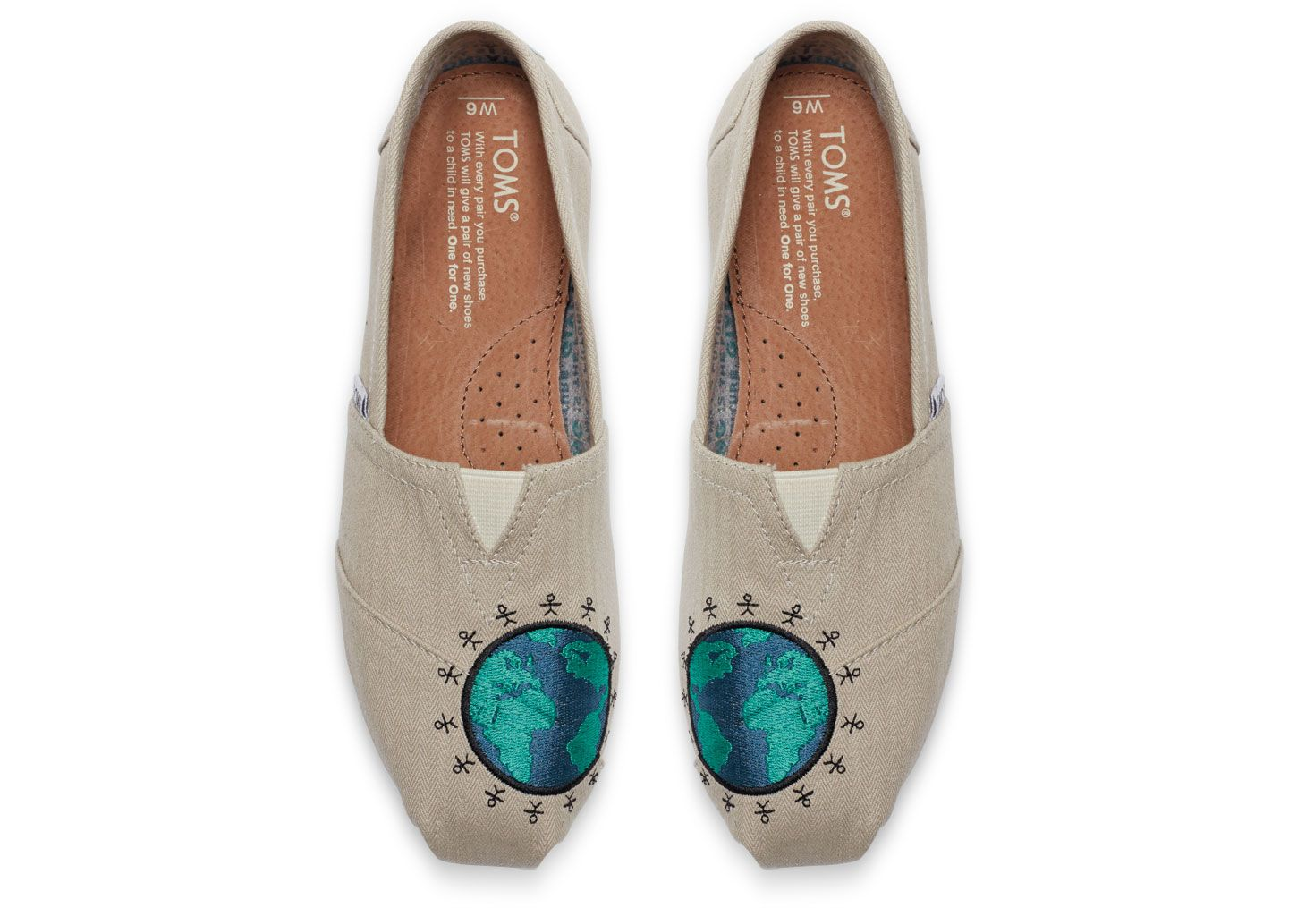db1445cae1a undefined Giving Embroidered Globe Women s Classics Tom Brands