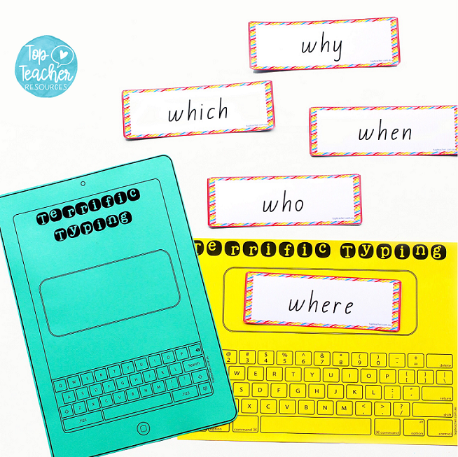 Use these keyboard templates to help your students learn