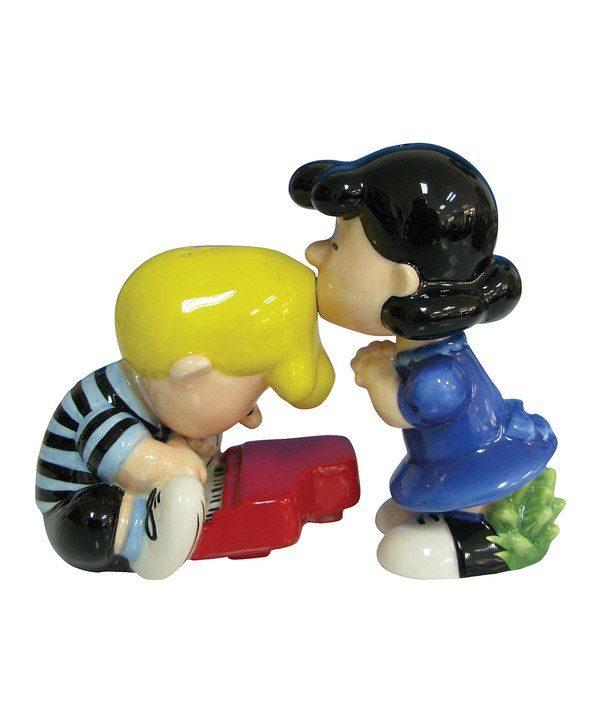 Take a look at this Lucy & Schroeder Salt & Pepper Shakers on zulily today!